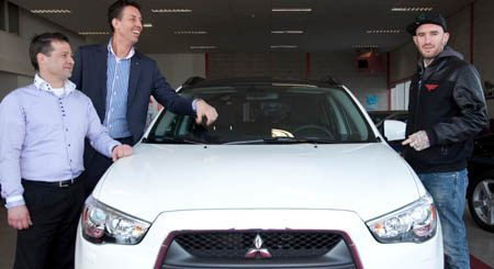 photo of Ben Saunders Mitsubishi ASX - car