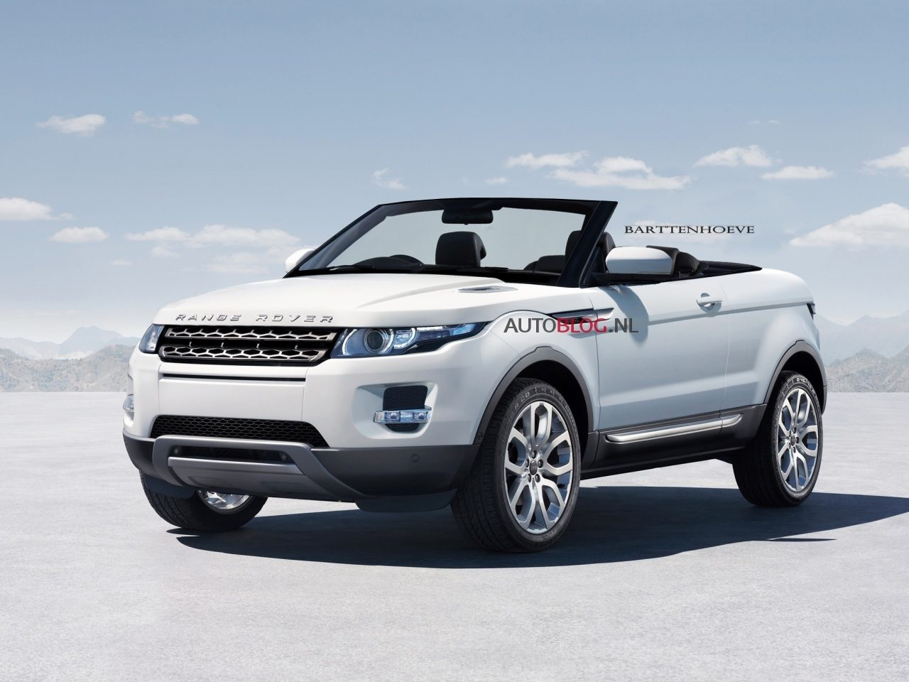 range rover evoque cabrio kwestie van tijd. Black Bedroom Furniture Sets. Home Design Ideas