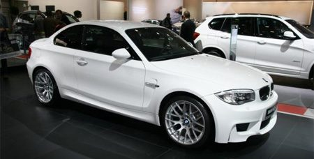 BMW 1M in Brussel