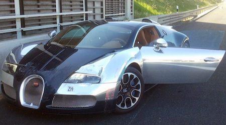 Polen met gestolen Bugatti, BMW en Ferrari aan de haal