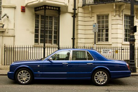 Bentley Arnage T facelift