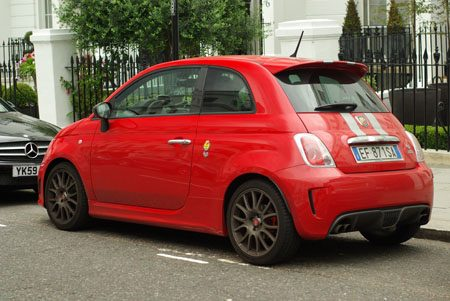 Abarth 695 Tributo Ferrari - Foto: Jim Appelmelk