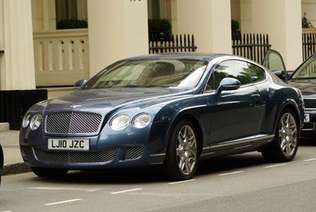 Bentley Continental GT - Foto: Jim Appelmelk