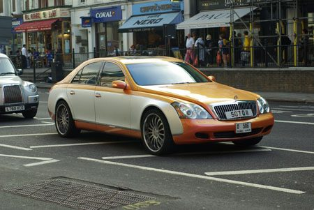 Maybach 57S Two Tone - Foto: Jim Appelmelk