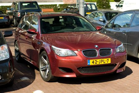 BMW M5 E61 Touring - Foto: Jim Appelmelk