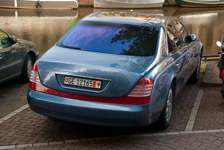 Maybach 57 - Foto: Jim Appelmelk