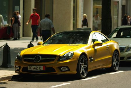 Mercedes-Benz SL 500 - Foto: Jim Appelmelk
