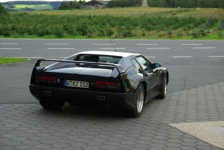 DeTomaso Pantera SI Nürburgring - Foto: Jim Appelmelk