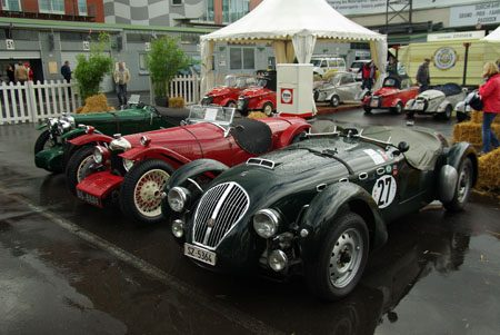 Healey Silverstone, SZ5364, chassis number E99 - Foto: Jim Appelmelk