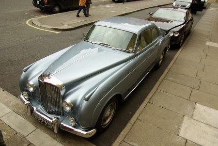 Een juweeltje van een Bentley S1 Continental Mulliner Fastback Coupé