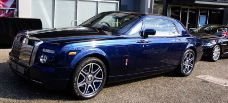 Johnny English Rolls Royce Phantom Coupe