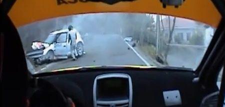 Robert Kubica crash