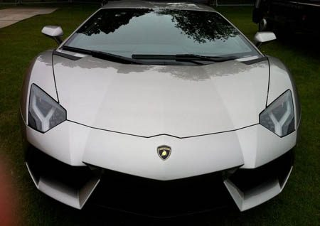 Lamborghini Aventador in Batman: The Dark Knight Rises