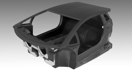 LP700-4 monocoque