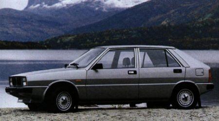De Lancia Delta werd in Zweden als Saab 600 verkocht