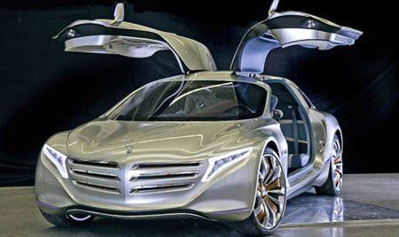 Mercedes F125 concept op waterstof