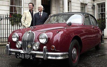 Jaguar MkII - Inspector Morse