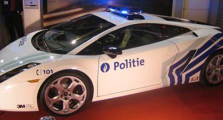 Belgische politie Lambo