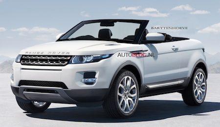 Range Rover Evoque Cabrio (klik voor groot)