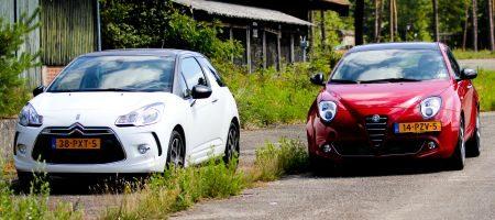 Alfa Romeo Mito versus Citroen DS3