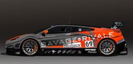 Savage Rivale GTR rendering