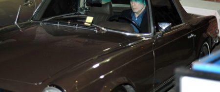 John Travolta zijn Mercedes 280SL