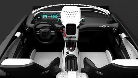 SSC Tuatara dashboard