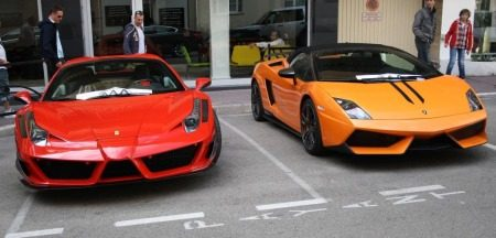 Mansory SIracusa vs LP570 Syder Performante