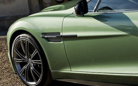Aston Martin Vanquish Appletree Green