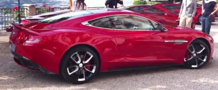 Aston Martin Project AM 310 - Video's!