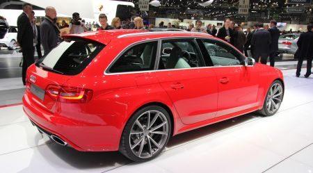 Audi RS4 Avant @ Geneve 2012