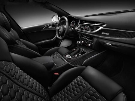 Audi RS6 interieur