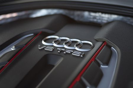 Audi V8 Twinscroll turbo