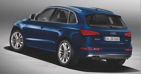 Audi SQ5 TDI blauw