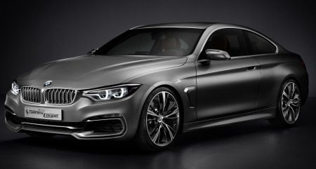 BMW 4 Serie Concept is een looker!
