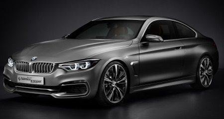 BMW 4 Serie Concept is een looker!