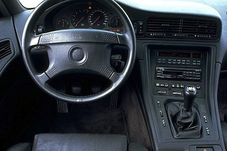 Bmw 8 serie e31 youngtimer in beeld for Bmw serie 8 interieur