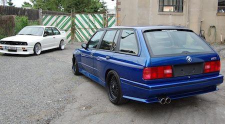 BMW E30 M3 vs Touring