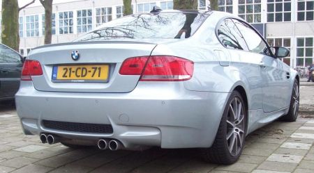 BMW M3 Coupé met CD-kenteken