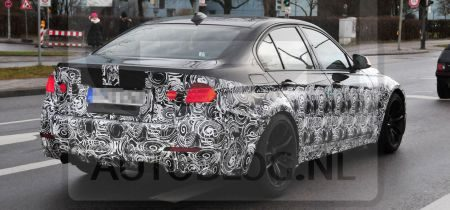 BMW M3 sedan (F80) spyshot