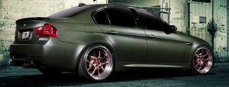 BMW M3 Turtle Power met ADV.1 porno's
