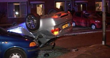 BMW M3 crash Hoogeveen