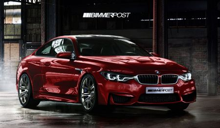 BMW M4 Coupé rendering by WildSpeed