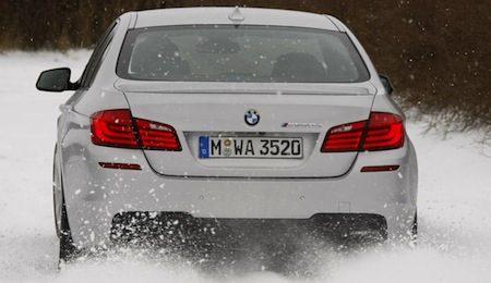 BMW M550d pwnage