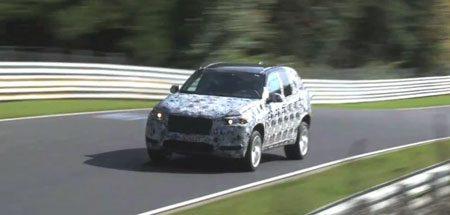 BMW X5M F15 spyvideo op de Nürburgring