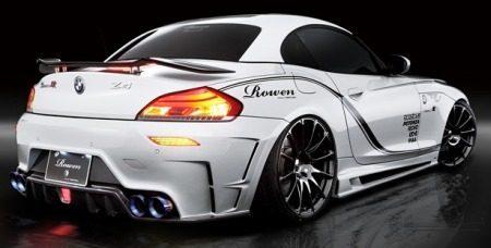BMW Z4 White Wolf. WOOF WOOF!