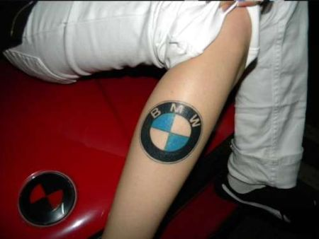 BMW tattoo