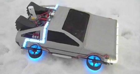 BTTF DeLorean Quadrotor