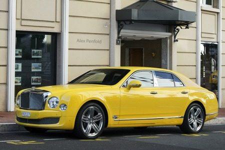 Bentley Mulsanne geel - Foto: Raphael Belly