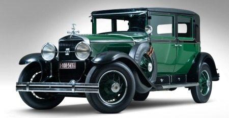 1928 Cadillac V-8 Town Sedan AL Capone